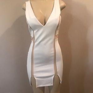 White Sexy Dress - Club Dress